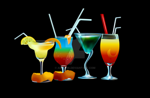 Drinks Vector 2 by AryaInk