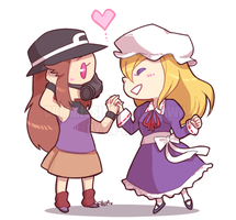 Commission: TPP Amber + Athena by ky-nim
