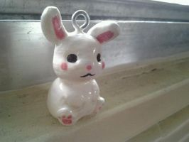 Bunny Rabbit front view by NerdyNation