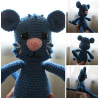 Daniel Tigers Tigey Plushie by oywiththeplushies