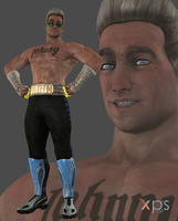 MKX Johnny Cage (Younger) by Sticklove