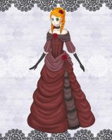 AoH: Winter Ball Gown by AxisRaid