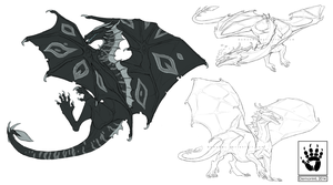 Revian Sketch Page by DemonML