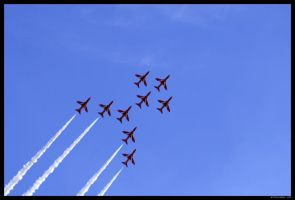 Red Arrows Display 3 by SCM