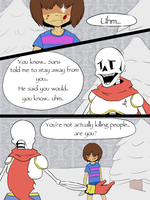 Undertale: I don't like you (Test) by PikaIsCool