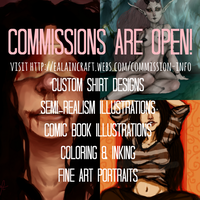 COMMISSIONS ARE OPEN by Ealaincraft