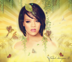 Beautiful Rihanna by ishengomaf