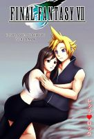 Cloud and Tifa - Cover by rettsurokku