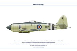 Sea Fury GB 801 NAS 1 by WS-Clave