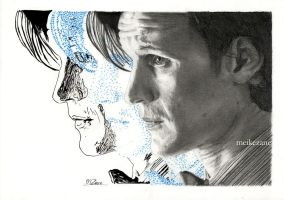 Eleventh Doctor - Matt Smith by MeikeZane