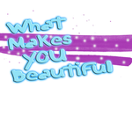What makes you beautiful texto PNG by pamelahflores