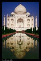 Taj Mahal by crazygirl131