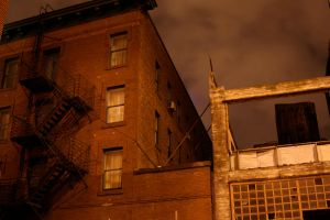 Fire Escape by hyannah77-stock