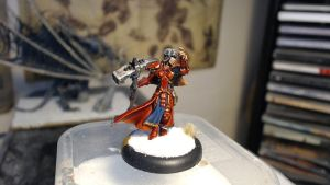 Khador Kommander Sorscha by Brother-Maynard