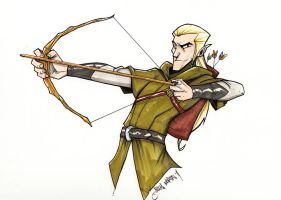 Legolas by Bloodzilla-Billy