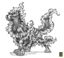 A - Arcanine Black Special by Shun-008