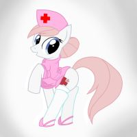 Nurse Redheart Nurse by Pyruvate