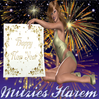 Happy New Year 2012: Evelyn by MitziesHarem