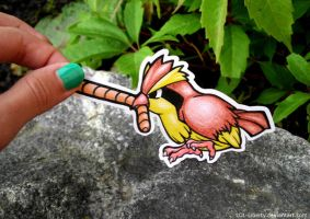 Keep your beak off, Pidgey. by LOL-Liberty