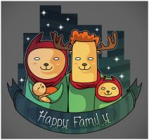 Happyfamily by andreasardy