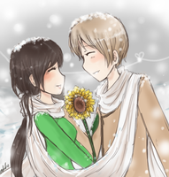 APH - Warm Happiness by DinoTurtle