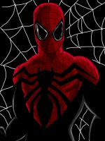 Superior Spider-Man - Full Digital Art (new suit) by chrismas-81