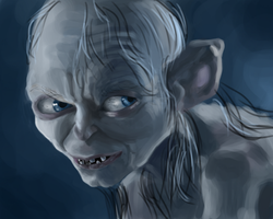 Lord of the Rings-Gollum by UsayFudo