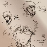 +Gintoki Faces+ by Chinchikurin