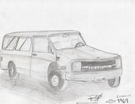 Chevy 69' by RaquelCisnerosTaisho