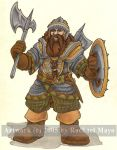 HeroQuest Dwarf Warrior by rachaelm5