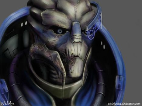Garrus (Mass Effect) by Wolchenka