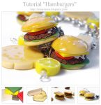 "Tutorial ""Hamburgers"" by OrionaJewelry"
