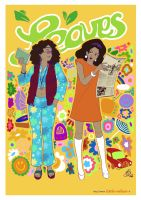 [Leaves] Sixties sisters by Little-Endian
