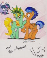 Signed by Vincent Tong by newyorkx3