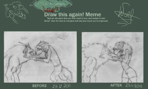 DRAW THIS AGAIN MEME by TheWolfMadness