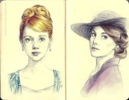 Ladies of Downton by polkapills
