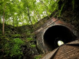 Sykesville Tunnel by Shreeb