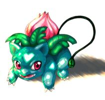 :: ivysaur WIP by Zachary-Moonlight