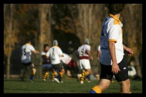 Rugby League F vs Burg V by lildreams