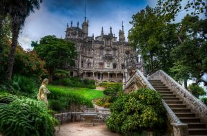 Quinta da Regaleira - The manor house by roman-gp