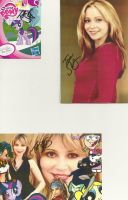Tara Strong Autograph 2 by xxXSketchBookXxx
