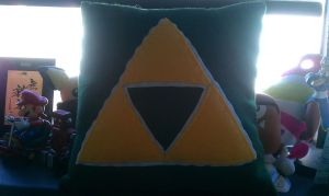 Zelda Pillow by megturney
