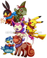 Pokemon Mystery Dungeon: Teams by RainbowJune
