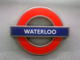 WaterLoo Train Sign by haileysthelimit