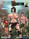 College Grown 2 Cover by zzzcomics