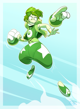 Prehnite Winds Up by EarthGwee