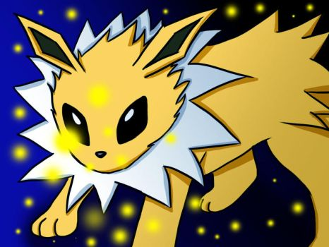 Jolteon by deliaku
