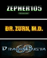 Gamertags by DrZurnPhD