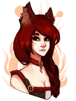{ahri} by peachshark