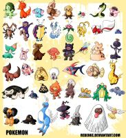 pokemon invented by me by rebenke